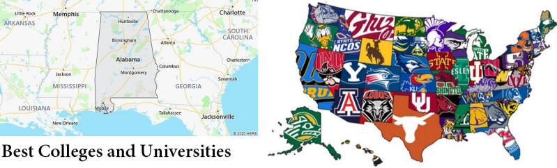 Alabama Best Colleges and Universities